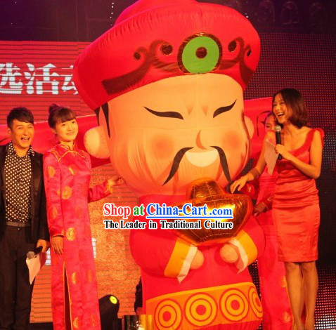 Traditional Chinese Cai Shen Inflatable