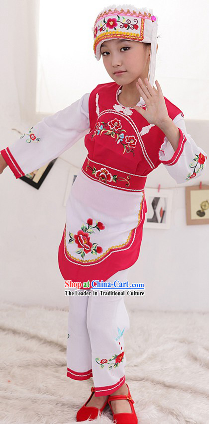 Bai Nationality Clothes for Children