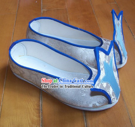Chinese Tang Dynasty Qiao Shou Ji Shoes for Men