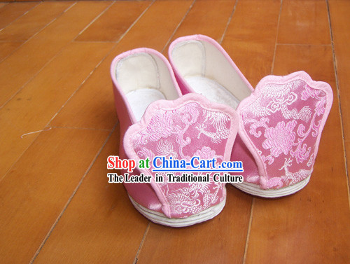 Chinese Tang Dynasty Hanfu Shoes for Women