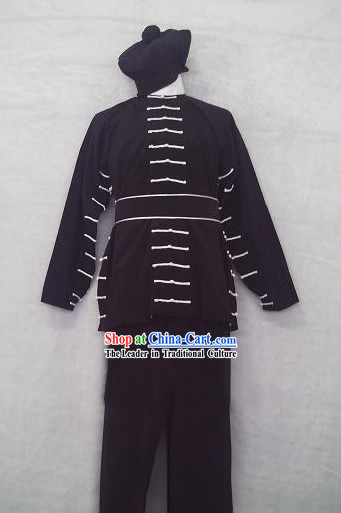 Traditional Chinese Parade Boys Costumes Complete Set