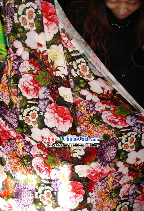 Chinese Silk Hanfu Fabric