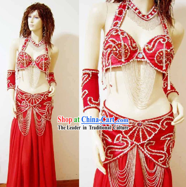 Traditional Belly Dance Costumes Complete Set for Women