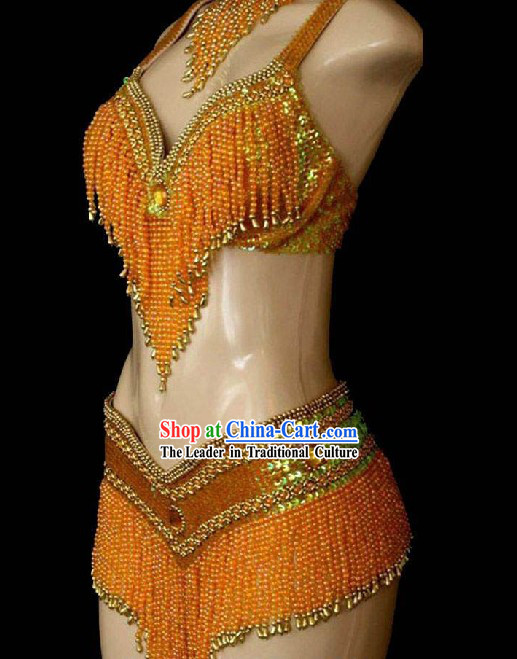 Top Made to Order Belly Dance Costume Complete Set for Women