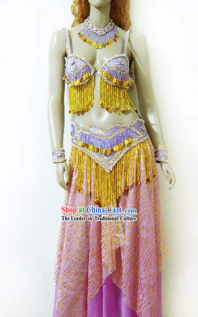 Classical Belly Dance Costumes Complete Set