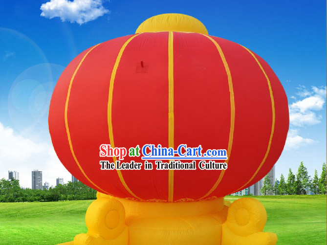 Large Chinese Red Inflatable Lanterns