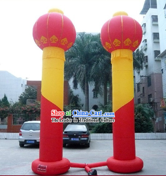 Large Chinese Inflatable Lanterns