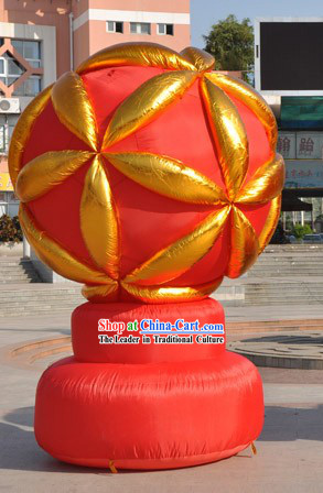 Large Inflatable Lucky Red Ball