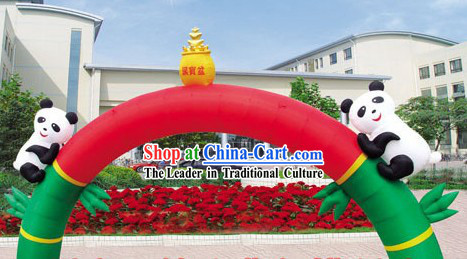 Chinese Inflatable Mascot Panadas Arches