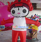 Chinese Cartoon Fu Dolls Inflatable Costumes