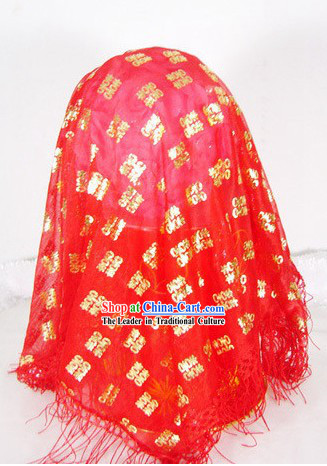 Traditional Chinese Wedding Veil