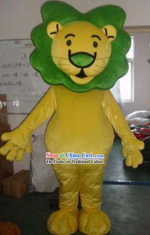 Lion Mascot Costumes Complete Set
