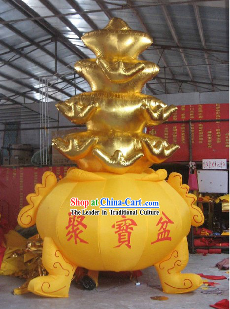 Large Chinese Opening Inflatable Cornucopia