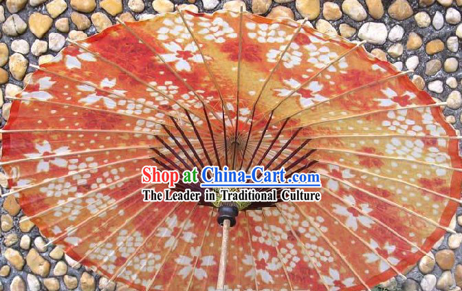 Large Japanese Hand Made Flower Umbrellas