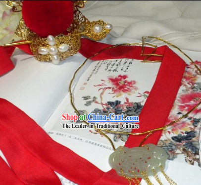 Chinese Wedding Hair Crown and Chaplet for Men
