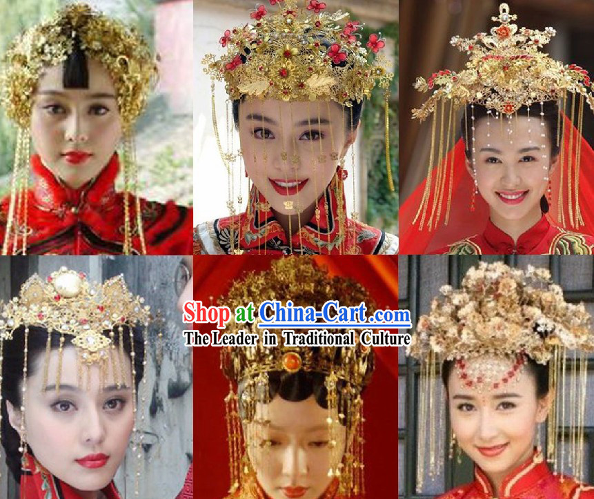 Custom-Made Chinese Crown, Wigs and Hair Decoration for Men