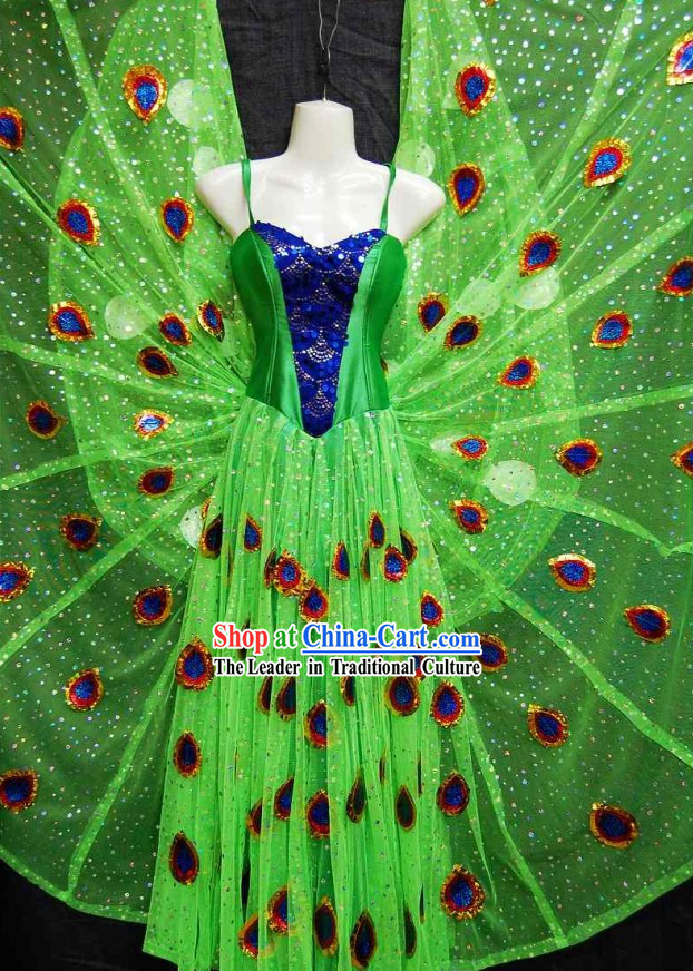 Thailand Peacock Dance Costumes