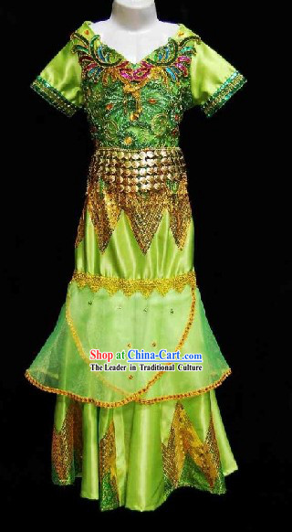 Thailand Dance Costumes for Children