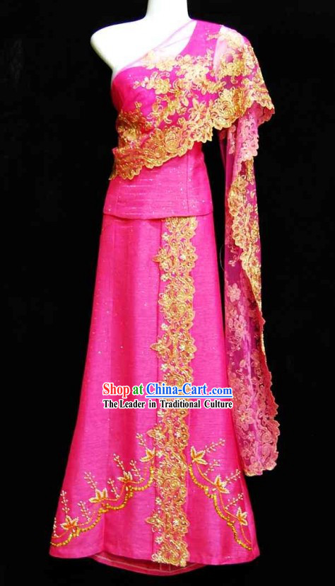 Traditional Thailand Dance Costume for Women