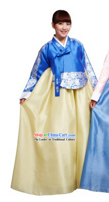 Ancient Korean Hanbok Clothing Set for Women