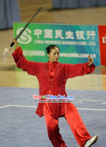 Tai Chi Sword Competition Uniform for Women