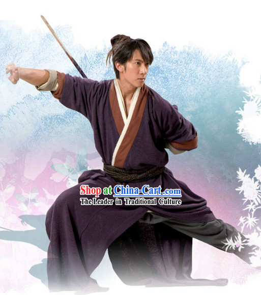 China Wuxia Martial Arts Chivalry Costumes for Men