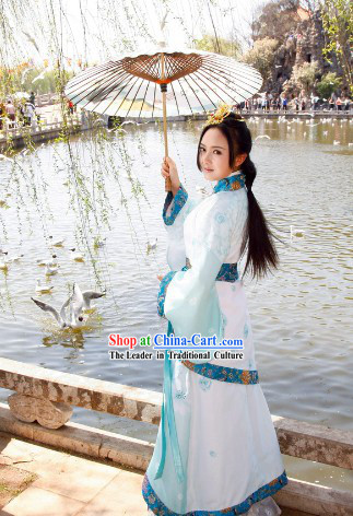 Traditional Chinese Clothing Complete Set for Women