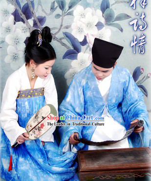 Traditional Chinese Wedding Groomsman and Maid Two Sets