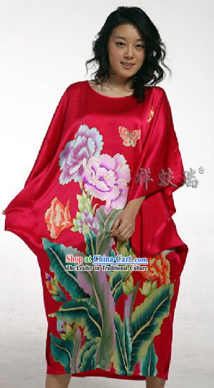Rui Fu Xiang Chinese Silk Robe for Women