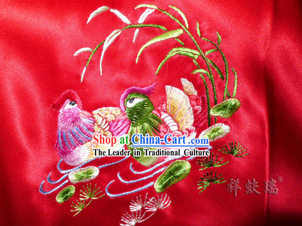 Beijing Rui Fu Xiang Silk Hand Embroidered Bellyband