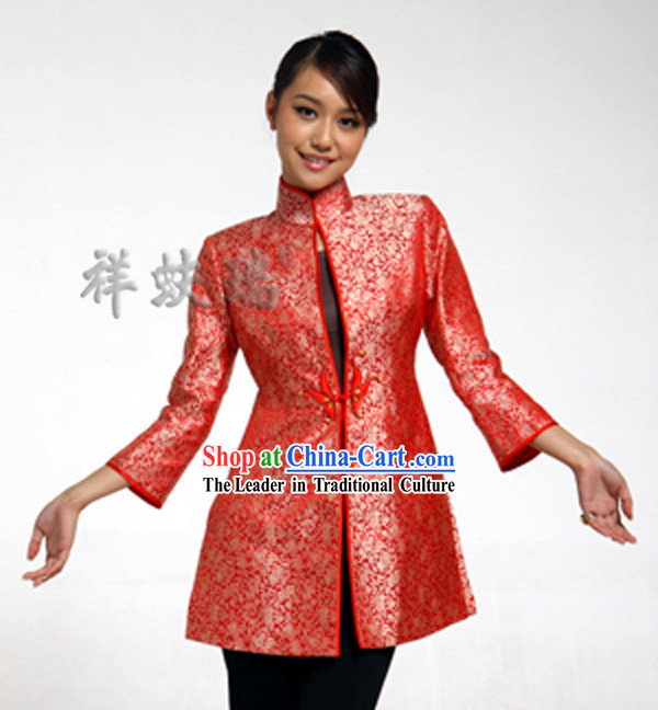 Traditional Chinese Rui Fu Xiang New Year Dress for Women
