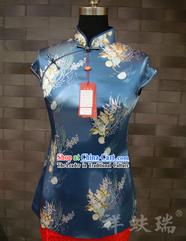 Beijing Rui Fu Xiang Silk Tang Top for Women