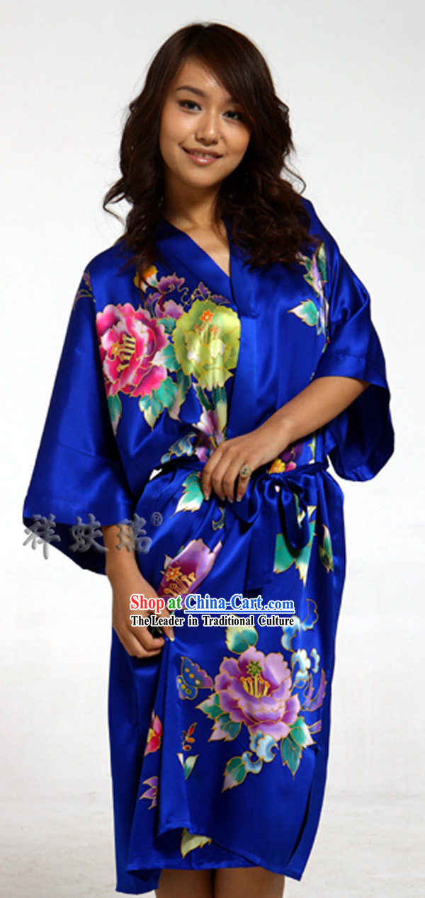 Chinese Rui Fu Xiang Silk Pajama for Women