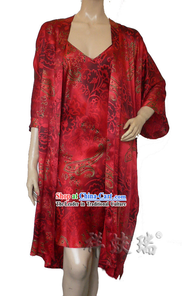 Beijing Rui Fu Xiang Silk Pajama for Women