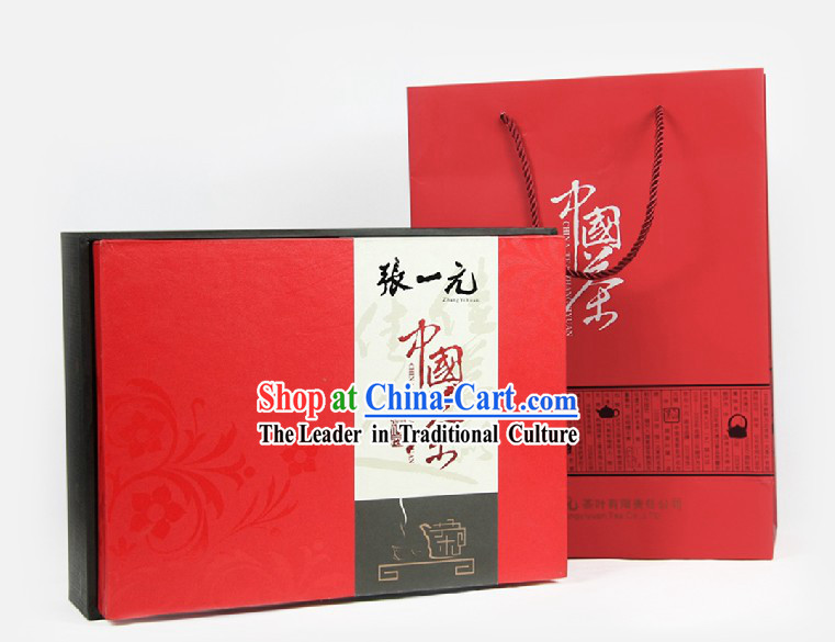 Chinese Zhang Yiyuan Jasmine and Grapefruit Tea in Gift Package