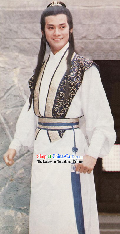 Chu Liu Xiang Costumes and Wig Complete Set