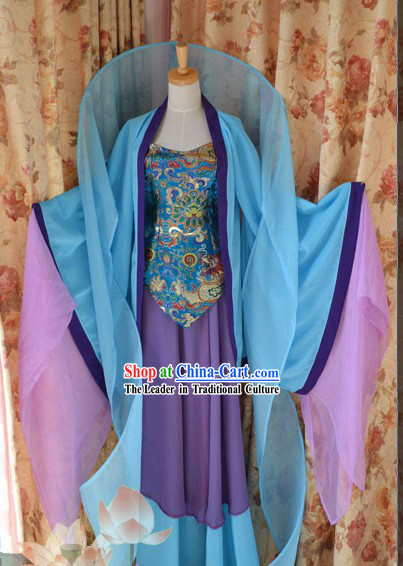 Chinese Ancient Dance Costumes Complete Set
