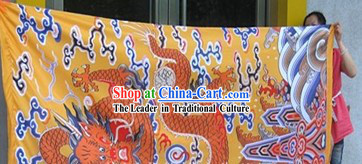 Large Chinese Dragon Banner