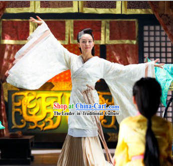 Han Dynasty Beauty Clothing Complete Set