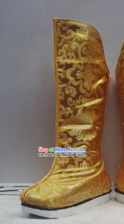 Traditional Chinese Hanfu Shoes for Men