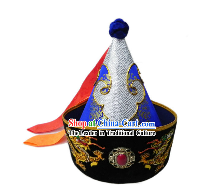 Mongolia Handmade Classic Hat for Man