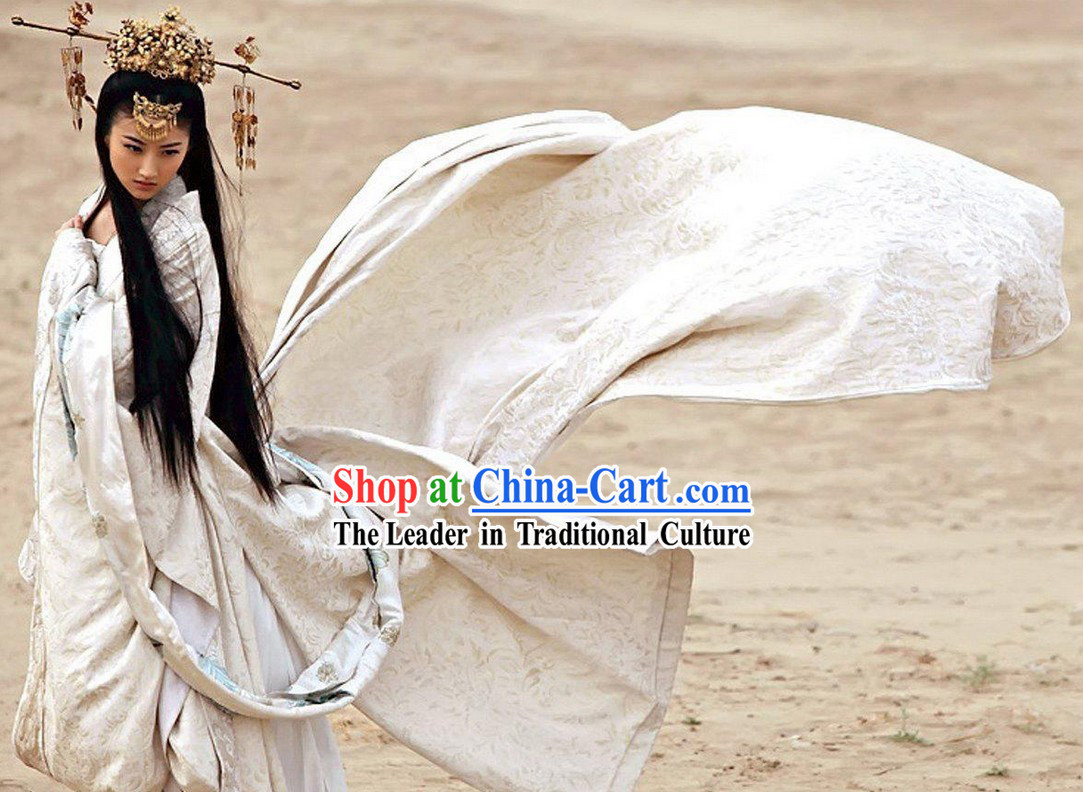 Ancient China Han Period Empress Clothing Complete Set