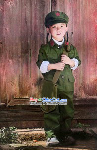 Red Army Uniform Costume Set for Children
