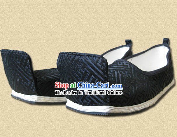 Traditional Han Chinese Clothing Male Shoes