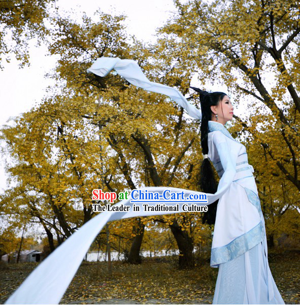 Long Sleeve Chinese Classical Dancing Costumes