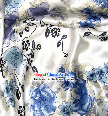 Hangzhou Flower 100_ Chinese Silk