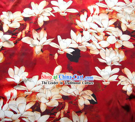 Traditional chinese silk flower fabric chinese 100 silk flower fabric mightylinksfo