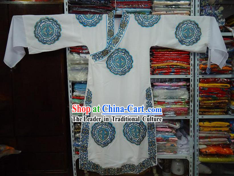 Chinese Beijing Opera Wu Sheng Embroidered Clothes for Men