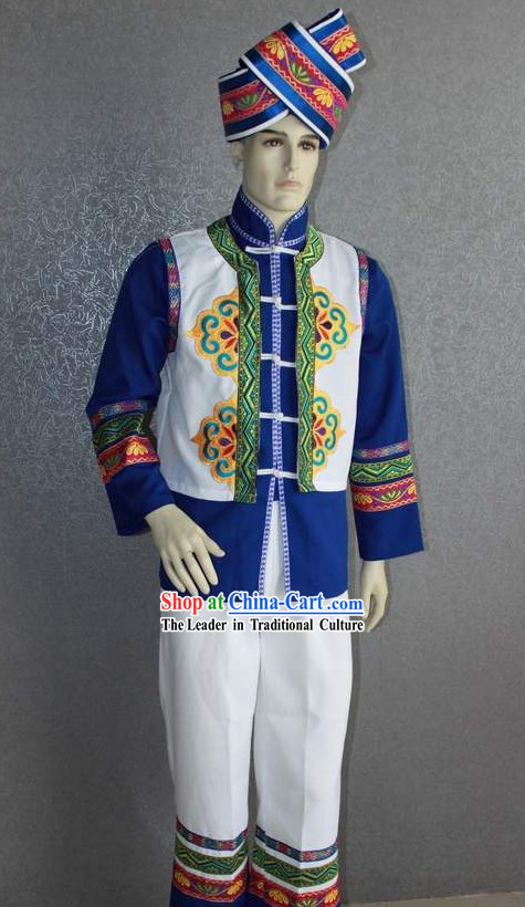 Chinese Traditional Minority Dresses Complete Set