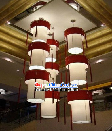 79 Inches Height Large Traditional Chinese Palace Lanterns Set